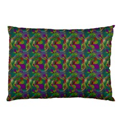 Pattern Abstract Paisley Swirls Pillow Case (two Sides) by Simbadda