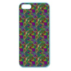 Pattern Abstract Paisley Swirls Apple Seamless Iphone 5 Case (color) by Simbadda