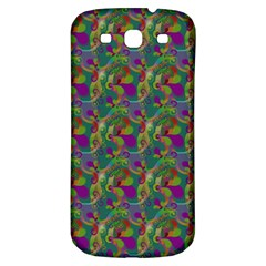 Pattern Abstract Paisley Swirls Samsung Galaxy S3 S Iii Classic Hardshell Back Case by Simbadda