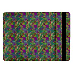 Pattern Abstract Paisley Swirls Samsung Galaxy Tab Pro 12 2  Flip Case by Simbadda