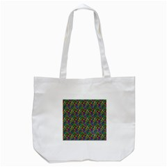 Pattern Abstract Paisley Swirls Tote Bag (white) by Simbadda