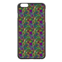 Pattern Abstract Paisley Swirls Apple Iphone 6 Plus/6s Plus Black Enamel Case by Simbadda