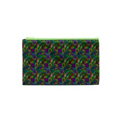 Pattern Abstract Paisley Swirls Cosmetic Bag (xs) by Simbadda