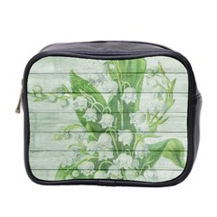 On Wood May Lily Of The Valley Mini Toiletries Bag 2 Side