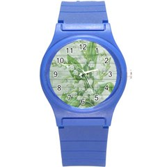 On Wood May Lily Of The Valley Round Plastic Sport Watch (s)