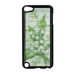 On Wood May Lily Of The Valley Apple Ipod Touch 5 Case (black) by Simbadda