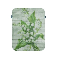 On Wood May Lily Of The Valley Apple Ipad 2/3/4 Protective Soft Cases by Simbadda