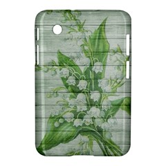 On Wood May Lily Of The Valley Samsung Galaxy Tab 2 (7 ) P3100 Hardshell Case  by Simbadda