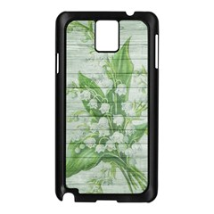On Wood May Lily Of The Valley Samsung Galaxy Note 3 N9005 Case (black) by Simbadda