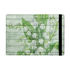 On Wood May Lily Of The Valley Ipad Mini 2 Flip Cases by Simbadda