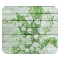 On Wood May Lily Of The Valley Double Sided Flano Blanket (small)  by Simbadda