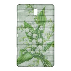 On Wood May Lily Of The Valley Samsung Galaxy Tab S (8 4 ) Hardshell Case  by Simbadda