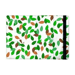 Leaves True Leaves Autumn Green Ipad Mini 2 Flip Cases by Simbadda