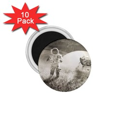 Astronaut Space Travel Space 1 75  Magnets (10 Pack)  by Simbadda