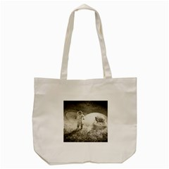 Astronaut Space Travel Space Tote Bag (cream) by Simbadda