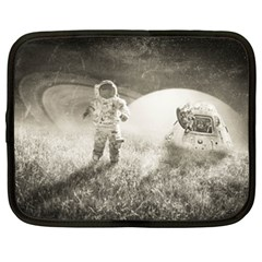 Astronaut Space Travel Space Netbook Case (xxl)  by Simbadda