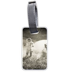 Astronaut Space Travel Space Luggage Tags (two Sides)