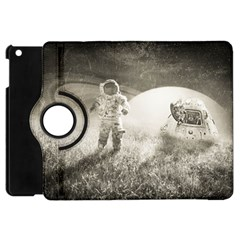 Astronaut Space Travel Space Apple Ipad Mini Flip 360 Case by Simbadda