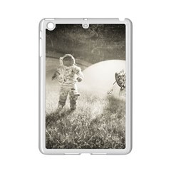 Astronaut Space Travel Space Ipad Mini 2 Enamel Coated Cases by Simbadda