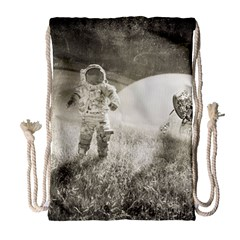Astronaut Space Travel Space Drawstring Bag (large) by Simbadda