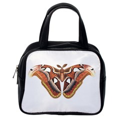Butterfly Animal Insect Isolated Classic Handbags (one Side) by Simbadda