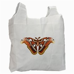 Butterfly Animal Insect Isolated Recycle Bag (one Side) by Simbadda