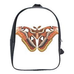 Butterfly Animal Insect Isolated School Bags(large)