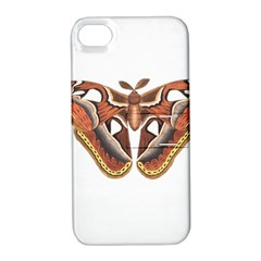 Butterfly Animal Insect Isolated Apple Iphone 4/4s Hardshell Case With Stand by Simbadda