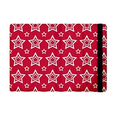 Star Red White Line Space Apple Ipad Mini Flip Case by Alisyart