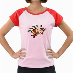 Tomatoes Carrots Women s Cap Sleeve T Shirt by Alisyart
