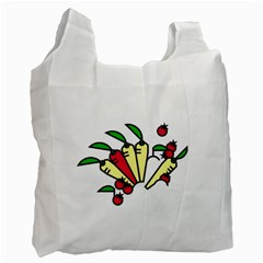 Tomatoes Carrots Recycle Bag (one Side)