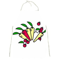 Tomatoes Carrots Full Print Aprons by Alisyart