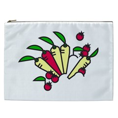 Tomatoes Carrots Cosmetic Bag (xxl)