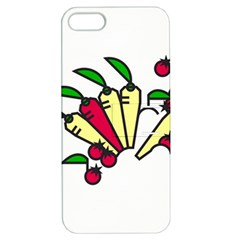 Tomatoes Carrots Apple Iphone 5 Hardshell Case With Stand