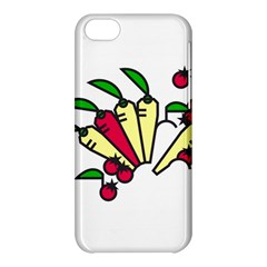 Tomatoes Carrots Apple Iphone 5c Hardshell Case by Alisyart