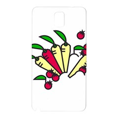 Tomatoes Carrots Samsung Galaxy Note 3 N9005 Hardshell Back Case by Alisyart