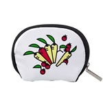 Tomatoes Carrots Accessory Pouches (Small)  Back
