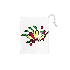 Tomatoes Carrots Drawstring Pouches (xs)