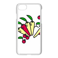 Tomatoes Carrots Apple Iphone 7 Seamless Case (white) by Alisyart
