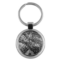 Fern Raindrops Spiderweb Cobweb Key Chains (round)  by Simbadda