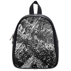 Fern Raindrops Spiderweb Cobweb School Bags (small)