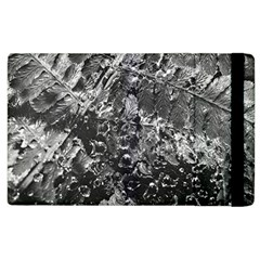 Fern Raindrops Spiderweb Cobweb Apple Ipad 3/4 Flip Case by Simbadda