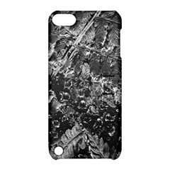 Fern Raindrops Spiderweb Cobweb Apple Ipod Touch 5 Hardshell Case With Stand by Simbadda