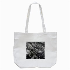 Fern Raindrops Spiderweb Cobweb Tote Bag (white) by Simbadda