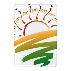 Sunset Spring Graphic Red Gold Orange Green Samsung Galaxy Tab Pro 12 2 Hardshell Case by Alisyart