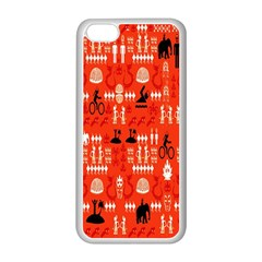 Traditional Wayang Apple Iphone 5c Seamless Case (white) by Alisyart