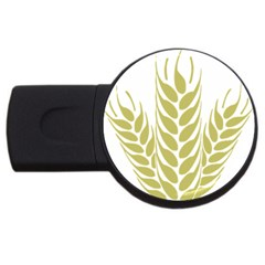 Tree Wheat Usb Flash Drive Round (4 Gb) by Alisyart