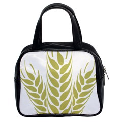 Tree Wheat Classic Handbags (2 Sides) by Alisyart