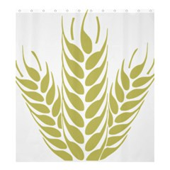 Tree Wheat Shower Curtain 66  X 72  (large)