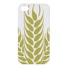Tree Wheat Apple Iphone 4/4s Hardshell Case